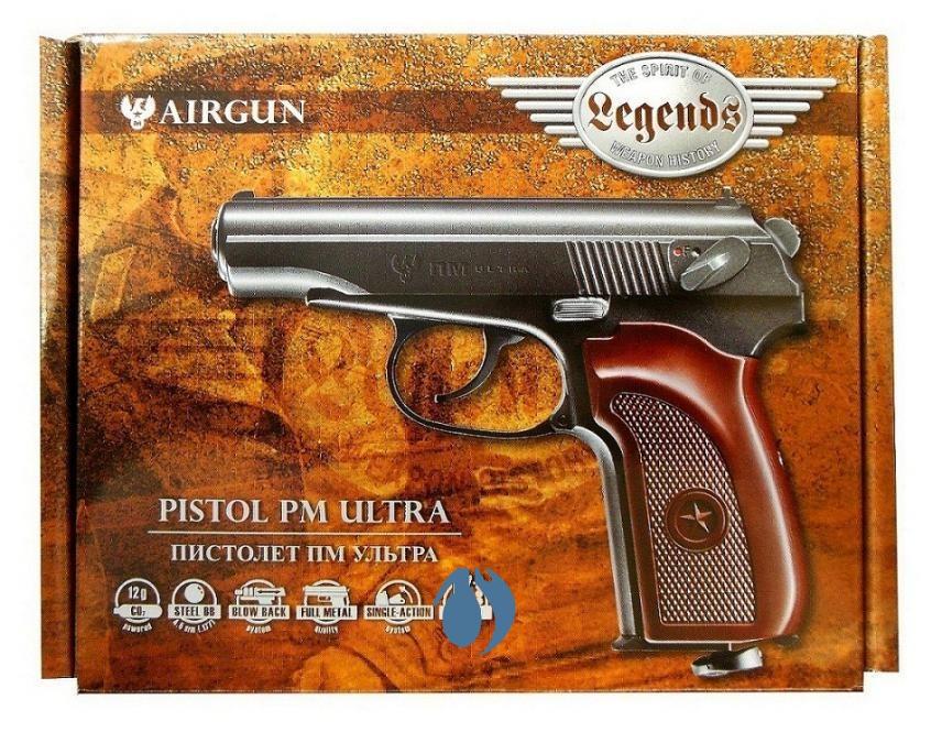 Пистолет пневматический Umarex ПМ Ultra
