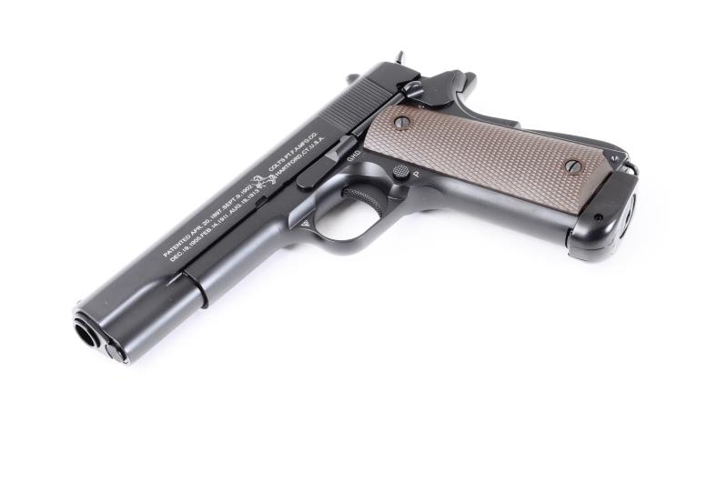 Пистолет пневматический KJW CОLT M1911 A1