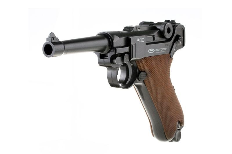 Пистолет пневматический Gletcher P-08 (c Blowback)