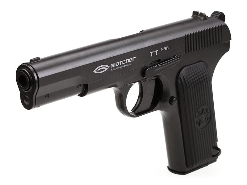 Пистолет пневматический Gletcher ТТ NBB (без Blowback)