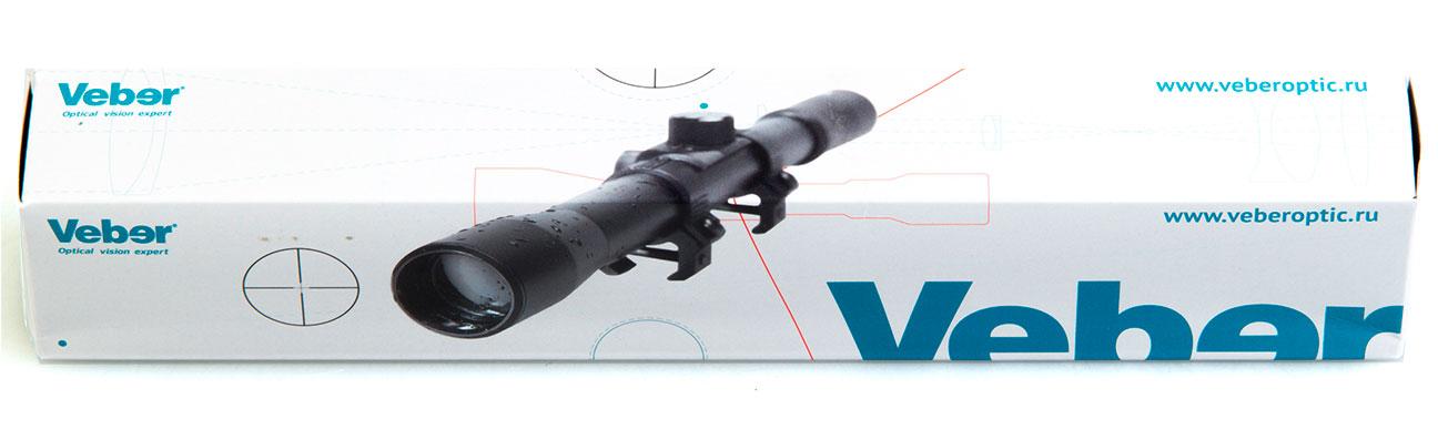 Прицел оптический Veber ПО 4-16*40 Пневматика
