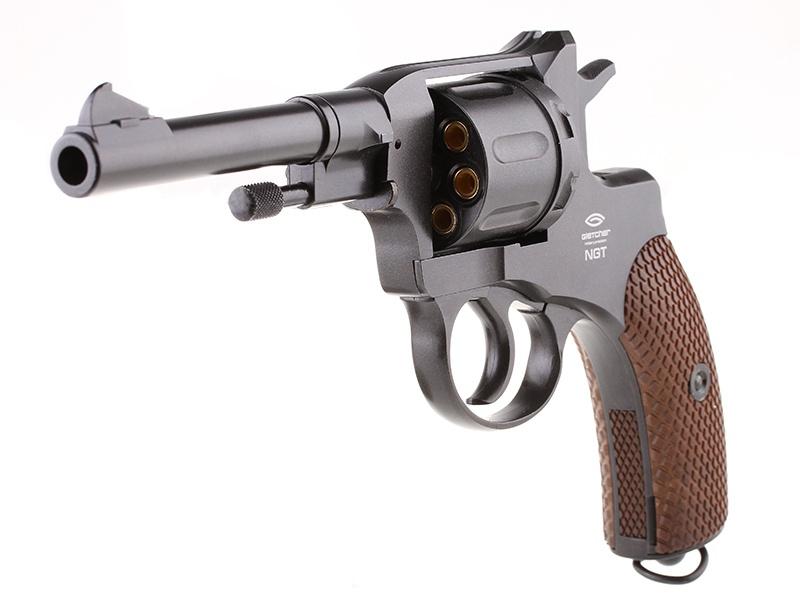 Пистолет пневматический Gletcher NGT Black