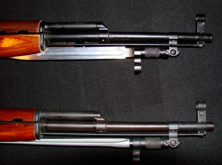 Штык-нож ММГ АК ШНС-003 (СКС)