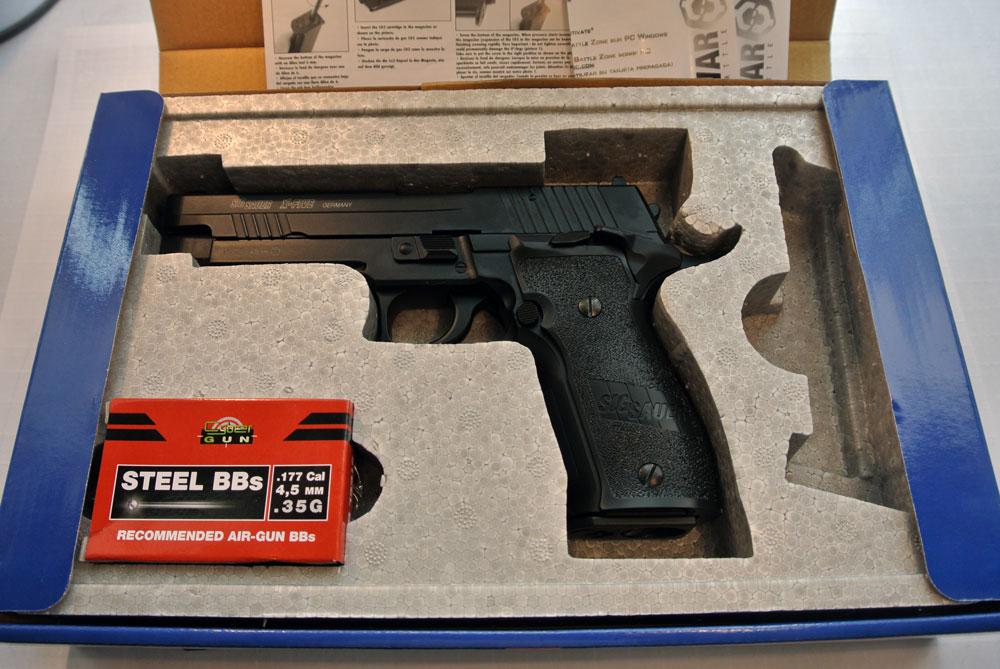 Пистолет пневматический Cybergun Sig Sauer X-FIVE 226 S