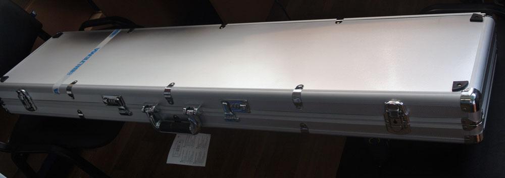 Алюминиевый кейс для оружия
