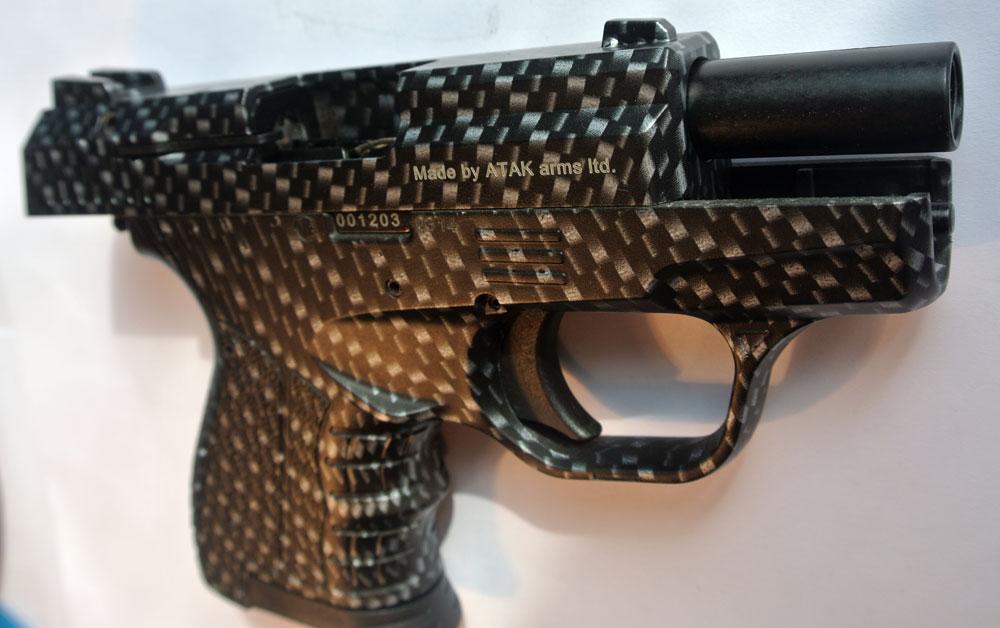Самозарядный сигнальный пистолет STALKER