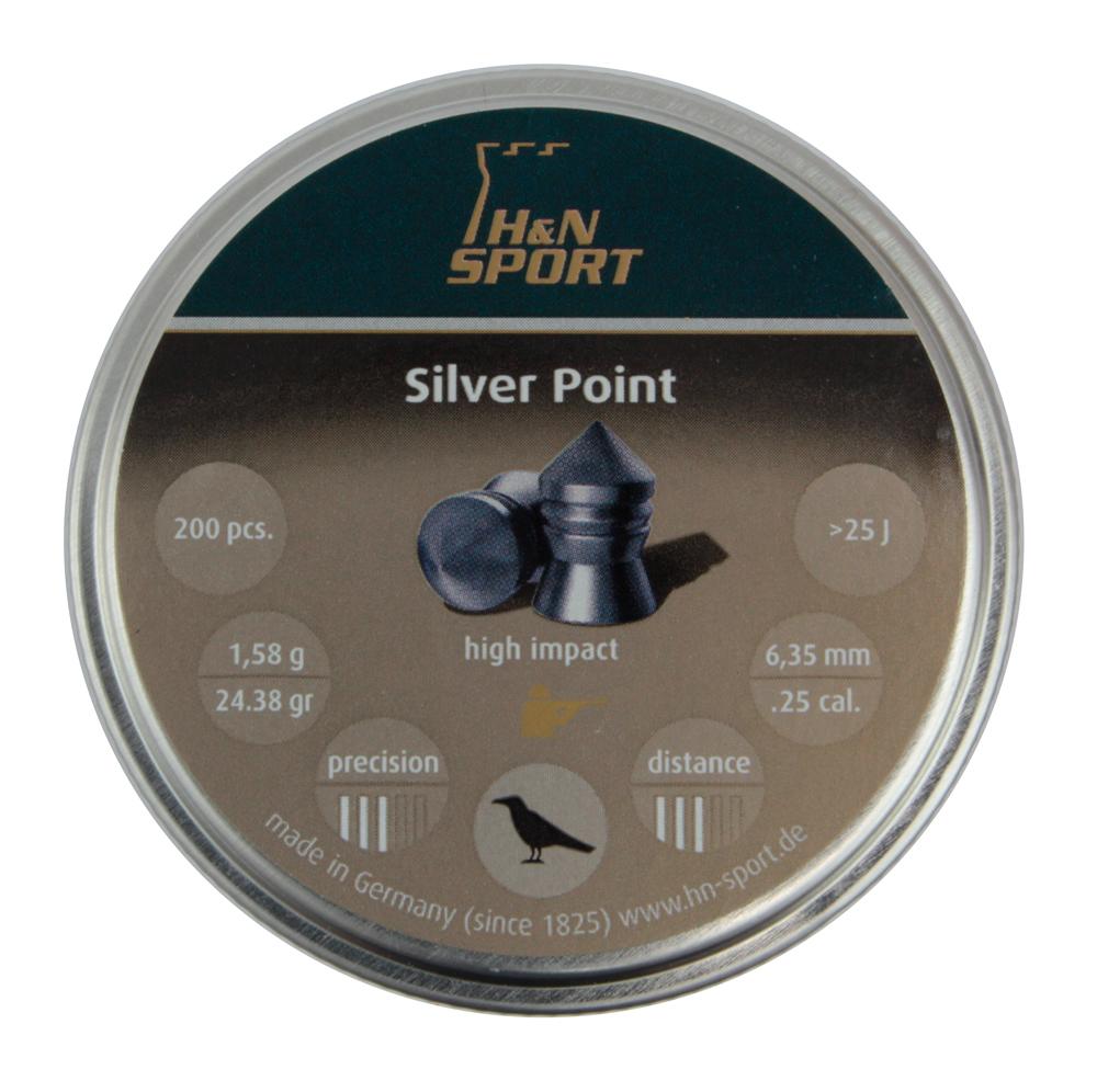 Пули пневматические H&N Silver Point 6,35 мм 1,58 грамма (200 шт.)