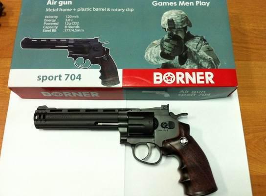 Пистолет пневматический Borner Sport 704