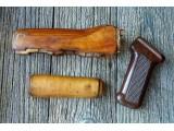 Комплект для тюнинга АК74 (дерев. цевье и накладка, бакелит. рукоять)