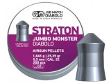 Пули для пневматики JSB Jumbo Monster Straton 5,5мм 1,645г (200шт)