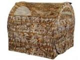 Засидка палатка на гуся, 152x152 см, камыш, компактно складывается (1 уп./2 шт.)