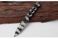 Тактический складной нож Geyotar W55 полосатый