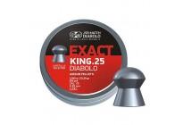 Пули для пневматики JSB Exact Diabolo King 6,35мм 1,645г (350шт)