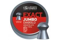 Пули для пневматики JSB Exact Jumbo Diabolo 5,5мм 1,03г (250шт)