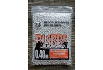 Шарики для страйкбола BLS 0,40 (1кг/уп, белые)