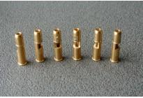 Картридж для револьверов шумовые под пули Блик, латунь (6шт)