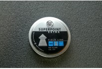 Пули для пневматики RWS Superpoint Extra 4,5мм 0,53гр (500шт)