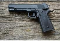 Пистолет пневматический Stalker S 1911G (аналог Colt 1911) 4,5мм (пластик, черный)