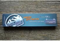 Набор Shot Time для чистки нарезного оружия 5,6 калибр, 3-х коленный, пластиковый пенал (ST-CK-22PB)