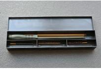 Набор для чистки оружия ADVANCE, латунный шомпол, кал.4,5 мм