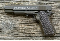 Пистолет игрушечный Air Soft Gun K116DS Smart (COLT 1911 с глушителем) кал. 6мм