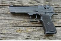Охолощенный пистолет EAGLE KURS (Deseart) Черный под патрон 10ТК