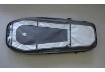 Чехол-рюкзак Leapers UTG на одно плечо, 86x35,5 см, цвет серый металлик/черный