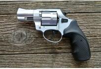 Револьвер сигнальный Zoraki LOM-S 5,6 мм ХРОМ, металл. барабан