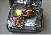 Очки тактические защитные True Adventure BH-PRG02 со сменными стеклами, в кейсе