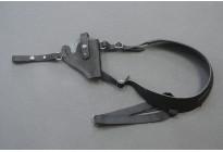Кобура оперативная на револьвер, черная