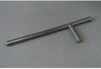Дубинка резиновая ПР-Таран (ПР-Т) с боковой рукояткой и упором