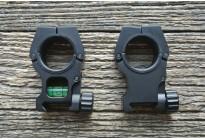 Кольца универсальные с индикатором уровня 25,4мм/30мм высокие BH-RS42