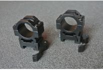 Кольца на Вивер, средние, быстросъемные 25,4мм  BH-RS42