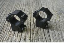 Кольца Patriot на Ласточкин хвост 25,4мм низкие 14мм (BH-RSL25/14)
