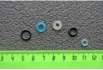 Ремкомплект МР-654К (набор прокладок) 5 колец- 4 кольца+уплотнение ствола