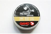 Пули для пневматики GAMO Pro Match 5,5мм 1,0гр (250 шт)