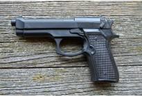 """Пистолет тренировочный резиновый """"Beretta 92"""""""