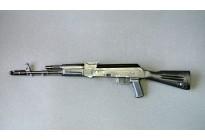 Автомат ММГ АК-74 без планки, пластик, металл, приклад не складной