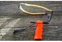 Рогатка с упором большая (нескладной упор), оранж. ручка