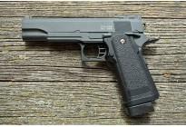 Пистолет пневматический Stalker SA5.1S (аналог Hi-Capa 5.1) +модератор +ЛЦУ, кал. 6мм