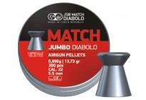 Пули для пневматики JSB Exact Jumbo Match 5,50мм 0,89г (300шт)
