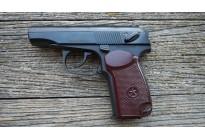 Пистолет Макарова Р-411 охолощенный, кованый затвор, бакелит. рукоять