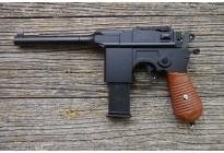 Пистолет пневматический Stalker SA96M Spring (аналог Mauser C96) кал. 6мм, пластик