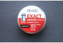 Пули для пневматики JSB Exact Monster Diabolo Redesigned 4,5мм 0,87гр. (400шт)
