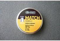 Пули для пневматики JSB Match Diabolo Middle 0,52гр. кал. 4,51мм (500шт)