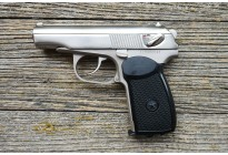 Пистолет пневматический Макаров МР-654К Хром