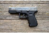 Пистолет охолощенный Retay G17 (Glock 17) Никель, кал. 9мм P.A.K