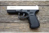 Пистолет охолощенный Retay G17 (Glock 17) Сатин, кал. 9мм P.A.K