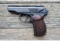 Пистолет Макарова Р-411 охолощенный, бакелитовая рукоять