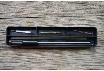 Набор для чистки оружия кал.4,5 мм, шомпол из стали, черный бокс